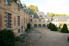 Image result for chateau + normandie + france