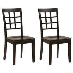Jofran Simplicity Grid Back Dining Chair - Set of 2 - JSI1350