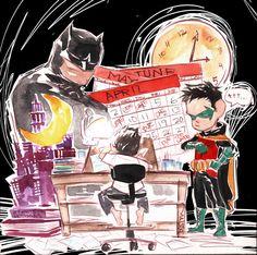 Lil Gotham in April by duss005.deviantart.com on @deviantART