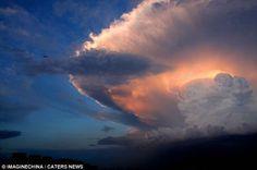 Scary Cloud Over Beijing