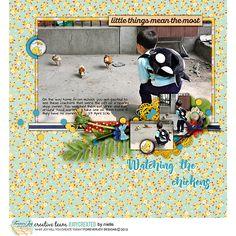 Digital Scrapbooking Kit - DUCK POND | ForeverJoy Designs
