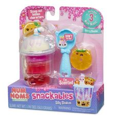Num Noms Snackables Silly Shakes- Berry Slushie Image 4 of 6 Toys For Girls, Kids Toys, Nom Noms Toys, Lemon And Coconut Cake, Mixed Berry Smoothie, Bite Size Snacks, Mixed Berries, Different Textures, Slushies