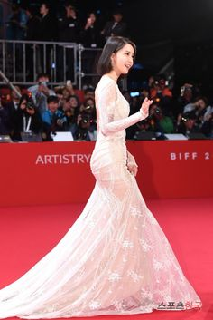 SNSD Yoona at the red carpet event of the 22nd BIFF