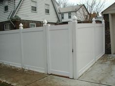 fence Vinyl Fence Panels, Lattice Top, Fence Styles, Fencing, Yard Ideas, Porch, Home Improvement, Shed, New Homes