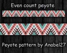 Even Count Peyote Pattern Peyote beading Peyote bracelet design Beaded jewelry patterns Beading patterns Bead weaving patterns Beadworks by ColorfulBeadPatterns on Etsy https://www.etsy.com/uk/listing/287348763/even-count-peyote-pattern-peyote-beading