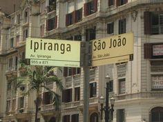 As ruas mais conhecidas de São Paulo/SP.