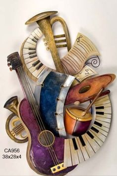 jazzy art Music Love, Art Of Music, Music Collage, Rock Music, Music Wall Art, Jazz Instruments, Musical Instruments Drawing, Remix Music, Electro Swing