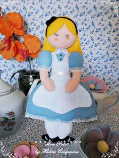 Alice em feltro