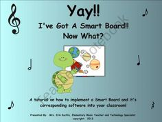 Yay!! Ive Got A Smart Board!! Now What??? An In Depth Tutorial On How To Use Your Smart Board from Mrs. Kuchta's Elementary Music Resource Center on TeachersNotebook.com (27 pages) - Yay!! I've Got A Smart Board!! Now What??? An In Depth Tutorial On How To Use Your Smart Board