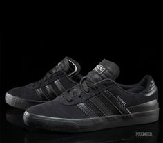 Adidas Shoes OFF! ►► Adidas Busenitz Vulc Footwear at Premier Addidas Sneakers, Sneakers Mode, Casual Sneakers, Adidas Shoes, Adidas Men, Casual Shoes, Shoes Style, Black Adidas, Adidas Busenitz