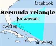 bermuda triangle for writers (or for quilters, artists ....)