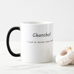 Chancho I need to borrow some sweats Mug