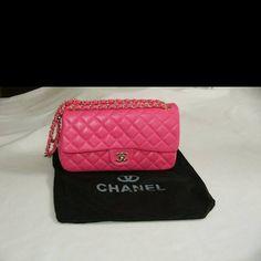 Pink pochette Chanel