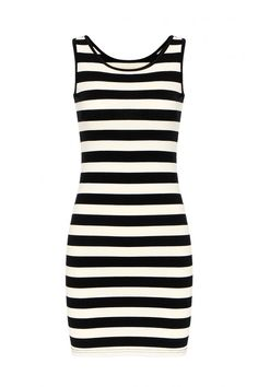Stripe Mini Dress ==
