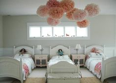 Pink Pom Pom in a Children's Room