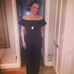 Long day - and my lovely little navy @littlewoodsonline jumpsuit has seen me through from day to night. #dinner #family #productiveday love it @myleeneklass  x