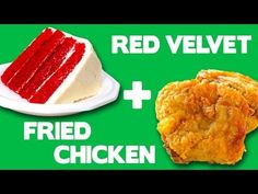 Red Velvet Fried Chicken - Food Mashups - YouTube