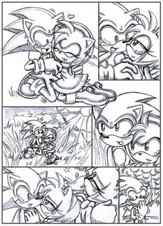 Awesome sonic comic!