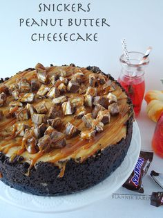 Snickers Peanut Butter Cheesecake!.
