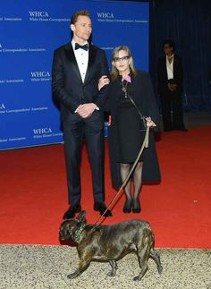 Carrie Fisher's Dog Gary Won The Red Carpet At The White House Correspondents' Dinner