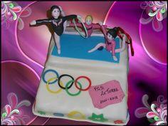 ... Gymnastics Cakes, Rhythmic Gymnastics, Cake Gallery, Sport, Lunch Box, Candy, Angry Birds, Cake Decorating, Party Ideas