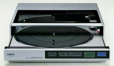 Sony PS-FL77 2-Speed Fully Auto Front Loading Turntable (1983-1985)