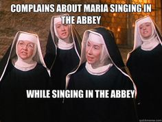 Lol! You can never get enough Sound of Music!