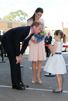 Kate Middleton e Príncipe William na Austrália