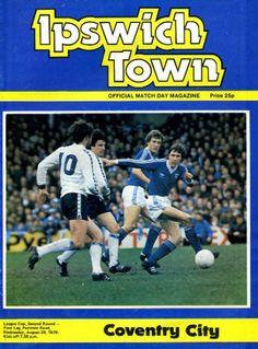29 August 1979 v Ipswich Town FL Cup Round 2 Leg 1 Won 1-0