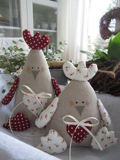 Выкройки курочек для украшения интерьера / Екатерина Балагурова