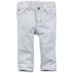 77 Girly Fader Skinny Jean ($15) ❤ liked on Polyvore featuring baby, baby girl, baby clothes, kids, girls and general