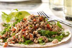 Luau Turkey Tacos Tortilla Style | #JennieO #SwitchToTurkey
