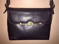 915f433926 ETIENNE AIGNER VINTAGE X 10 X 7.5 X 4 Black Leather Shoulder Bag by  COACHCROSSING on