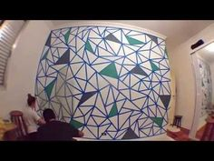 Como fazer um mosaico na Parede - YouTube Tapestry, Youtube, Home Decor, Cement, Wall, Hanging Tapestry, Tapestries, Decoration Home