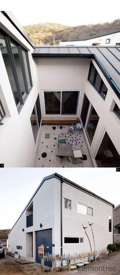 중정 품은 목조주택
