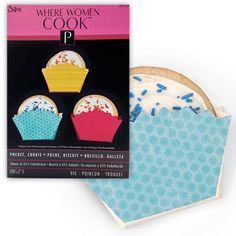 Sizzix - Where Women Cook Collection - Bigz L Die - Pocket, Cookie