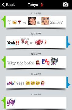 Use fun custom emojis when making plans for the evening! #emoji #share