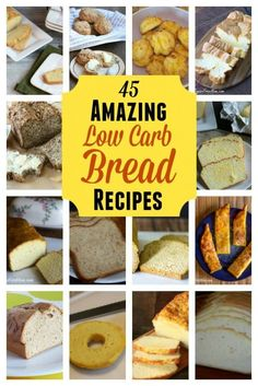 Bread is a real comfort food that many miss on a low carb diet. No need to be without. There are so many amazing low carb bread recipes!