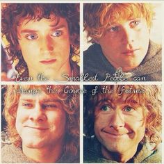 Frodo, Sam, Merry, and Pippin
