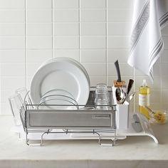 Williams-Sonoma Stainless-Steel Dish Rack, Large