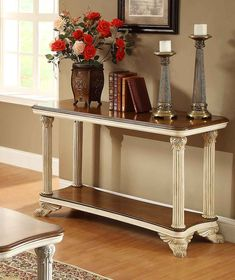 How to Decorate A sofa Table - ashley Furniture Home Office Check more at http://www.nikkitsfun.com/how-to-decorate-a-sofa-table/