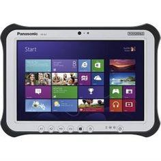 "Panasonic Toughpad Tablet PC - 10.1"" - In-plane Switching (IPS) Technology - Wireless LAN - Intel Core i5 i5-3437U FZ-G1AD-001M. Rugged Construction: 10.1"". Screen Size: 2.40 lb. Processor Speed: Core i5. Battery Life: Windows 7 Professional. RAM Type: Dual-core (2 Core)."