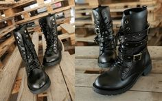 Find More Boots Information about New! Women's Martin Shoes European And American Fashion Belt Buckle Low Heeled Black Women Leather Boots,High Quality boots shoes mens,China boots shoes cheap Suppliers, Cheap shoes men boots from Jianhang trade on Aliexpress.com