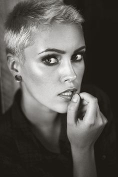Black and White Version of Johanna