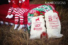 Personalized Santa Sack - Nice List Approved on Etsy, $34.00