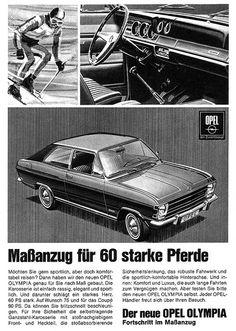 Opel Olympia A (1967) Schrägheck mit Maßanzug