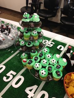 tailgate cupcakes more tailgating cupcakes parties ideas cupcakes rosa ...