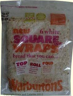 Warburtons White Square Wraps