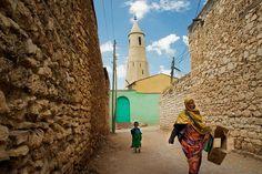 Streets of Harar, Ethiopia