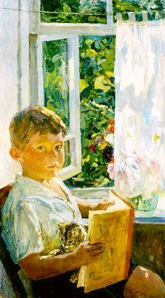pintura de Arkady Plastov (1893-1972)